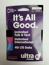 Ultra Mobile Dual Sim Card 4G Lte