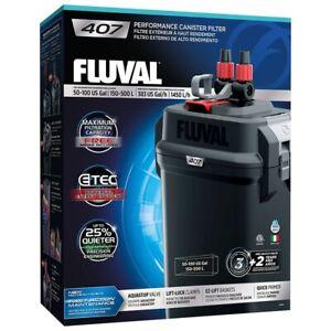 Fluval 407 Aquarium External Canister Filter 1450 L/PH