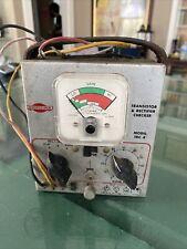 Vintage Sencore TRC-4 Transistor and Rectifier Checker Untested