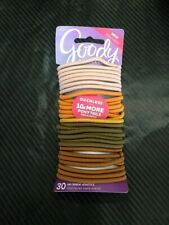 Goody Ouchless No Metal Elastic hair band Ponytail holder 30pc