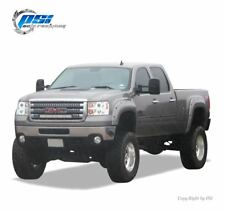 Black Paintable Pocket Bolt Fender Flares 07-13 GMC Sierra 1500 07-10 2500 /3500