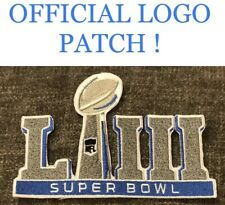 """SUPER BOWL 53 LIII PATCH 2018 2019 Official Patriots Iron Sew On Brady Jersey 5"""""""