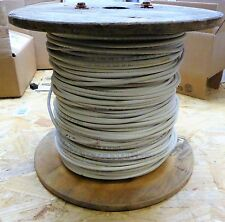 General Cable Wire 12 Gauge Covered Copper 7 Stranded White 600V  Apx 500'
