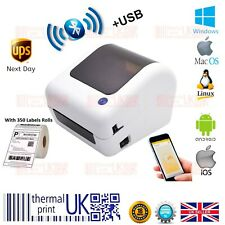 More details for beeprt® direct thermal shipping 4x6 label printer bluetooth with label rolls