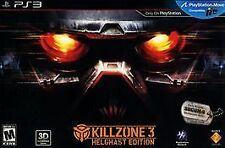 Killzone 3 Helghast Edition Brand New w/all goodies!