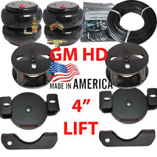 """2001-10 Chevy 2500 Towing Assist Over Load Air Bag Suspension 4"""" Lift Kit"""