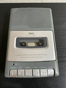 RCA Portable Tape Compact Cassette Recorder/Player RP3504-A Tested