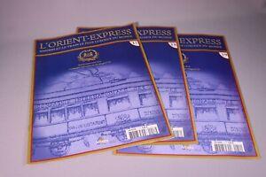 ZB505 ALTAYA Train Ho L'Orient Express 17/18/19 fascicules