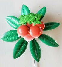 New listing New Vintage 1995 Artline Radishes Garden Flower Pinwheel Wind Spinner whirlygig