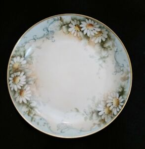 Antique Limoges Hand Painted Floral Plate in great condition