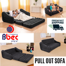 Inflatable Queen Size Pull-Out Sofa Couch Bed Futon 76