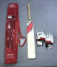 Cricket Set Size 6 - Bat, Gloves, Box and Bag. Starter/summer kit