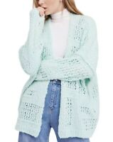 Free People Cardigan Sweater Size Small XS FREE PEOPLE Open Front Knit NWT NEW