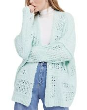 Free People Cardigan Sweater Size Medium Large FREE PEOPLE Open Front Knit NWT