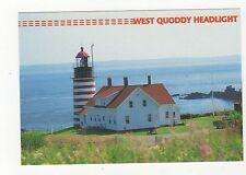West Quoddy Head Light USA Postcard 351a ^