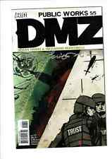 #17 DMZ BRIAN WOOD signed by Riccardo Burchielli DC Vertigo Comics 2007