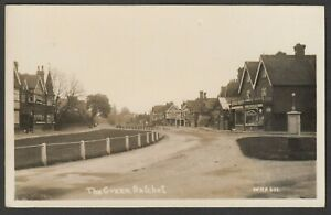 Postcard Datchet nr Windsor Berkshire view of The Green early RP by WHA 601