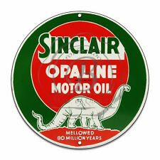 Vintage Design Sign Metal Decor Gas and Oil Sign - Sinclair Opaline Motor Oil