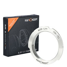 Lens Adapter Ring for M 39 M39 screw lens to Leica LM M9 M8 50-75 Adapters
