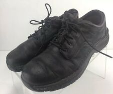 RED WING SD BROWN LEATHER STEEL TOE LACE UP OXFORD WORK SHOES MEN'S 10.5 B 8704