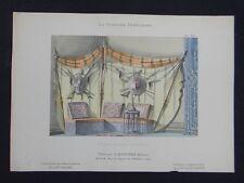 LA TENTURE FRANÇAISE 1904 - Divan oriental - Davène décoration 30