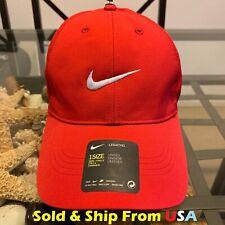 0f8ae11ed557 Nike Legacy 91 Dri-fit red 1 tamaño Strapback Gorro Gorra de Béisbol Nuevo  Con