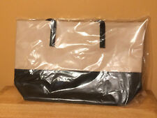 NEW Mary Kay Black & Tan Large Tote Bag Cityscape Consultant