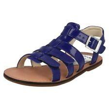 Scarpe Sandali blu per bambine dai 2 ai 16 anni dal Perù