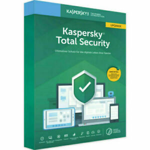KASPERSKY Total Security 2021 for 1 PC / Device 1 Year  worldwide activation