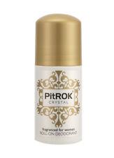 pitrok CRISTAL Roll On Desodorante para mujer 50ml perfumadas para SENSITVE PIEL