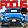 2012-2018 Ford Focus Window Vent Visors Side Door Deflector Rain Shades w/ Logo