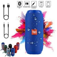 LOUD Bluetooth Speaker Wireless Waterproof Outdoor Stereo Bass USB/TF/FM Radio