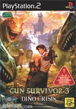Used PS2  Gun Survivor 3: Dino Crisis  SONY PLAYSTATION JAPAN IMPORT