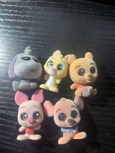 Disney Doorables - Series 6 - Lot 5 - 5 Figures - Winnie the Pooh