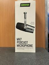 More details for (ne6) shure mv7 podcast microphone mic boxed