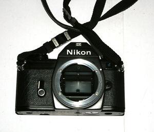 Nikon EM M90 SLR Film Camera Body Only Auto Focus w/ Shoulder Strap NO LENS