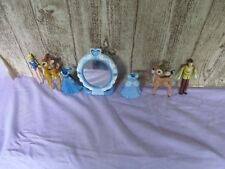 Polly Pockets Cinderella Prince PVC Bambi lot with mirror and dresses