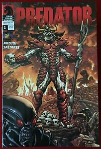 Predator (2009) #1 - DH 100 Variant Cover By Chris Warner - Comic Book - DHC