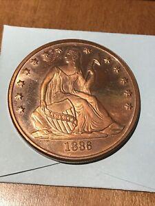 US Copper Round .999 Pure 1 Oz