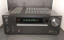 Onkyo TXNR575 7.2 Channel 170W Receiver, 4K, DOLBY ATMOS, BLUETOOTH, WIFI, USB