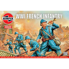 Airfix 0728 WWI French Army Infantry 1/72 Scale Plastic Model Figures