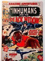 Amazing Adventures (2nd Series) #7 Marvel 1971 FN+ Comic Black Widow Neal Adams