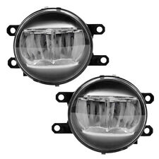 Pair LED Fog Lights for 2013-2019 Lexus Toyota Lamps Set 8122048051 8121048051