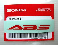 60 Original Honda Logo Blanc 6 cm Sticker Autocollant-Logo-Emblème-Windscreen