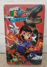 Super Mario Odyssey- Steelbook - NEW - Custom - NO GAME - Switch - G4