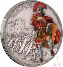 2017 Niue -  Warriors Of History - Romans 1 oz Coin
