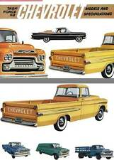 Chevrolet 1959 - Task Force 59 - Chevrolet  Models and Specifications