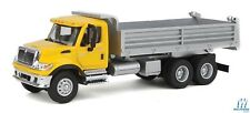 HO Scale Walthers Scenemaster 949-11663, International Dump Truck, Yellow/Silver