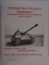 "Book: Panzer Tracts No. 9-3 - ""Jagdpanther"" - Panzerjaeger Panther (8.8 cm Pak)"