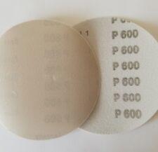 """5"""" Sanding Disc 10 Pack 600 Grit Waterproof Hook and Loop Film"""